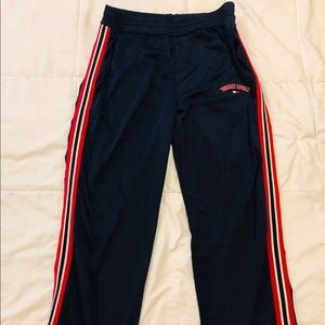 VTG TOMMY JEANS Sport Flag Spell Out Trackpants L